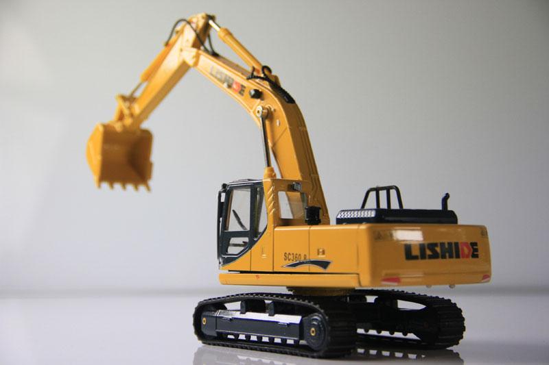 力士德挖掘机模型 中国梦